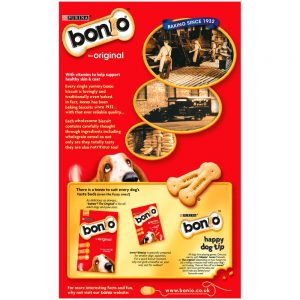BONIO Original Dog Biscuits, 650g