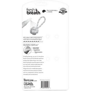 FRESH BREATH by TROPICLEAN Tri Floss Ball with Liquid Floss