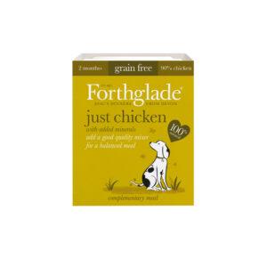 FORTHGLADE Grain Free Just Chicken, 395g