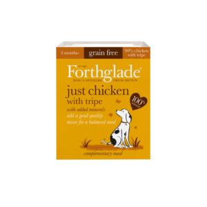 FORTHGLADE Grain Free Just Chicken & Tripe, 395g