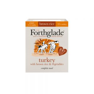 FORTHGLADE Complete Meal Puppy Turkey, 395g