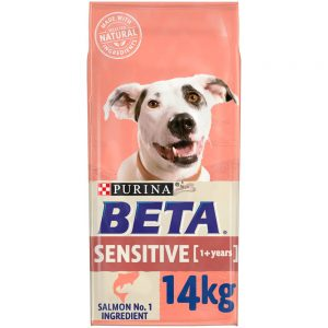 BETA Adult Sensitive Salmon & Rice, 14kg