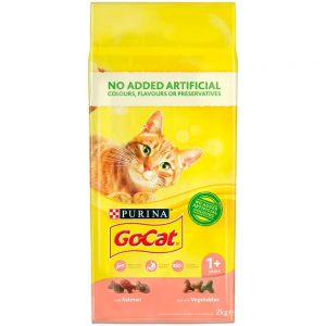 GO-CAT Adult Salmon & Vegetable, 2kg