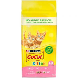 GO-CAT Kitten Chicken & Vegetable, 2kg
