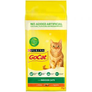 GO-CAT Indoor Chicken & Vegetable, 2kg