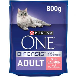 PURINA ONE Adult Salmon, 800g