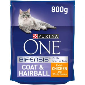 PURINA ONE Coat & Hairball, 800g