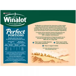 WINALOT Perfect Portions in Jelly Pouch Multipack,12x100g