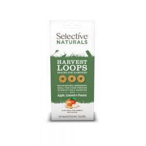 SELECTIVE NATURALS Harvest Loops for Hamsters, 80g