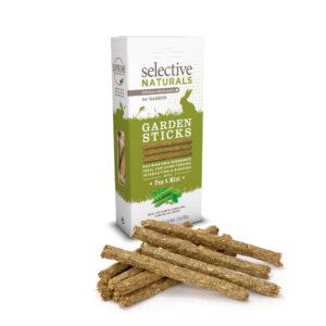 SELECTIVE NATURALS Garden Sticks for Rabbits, 60g