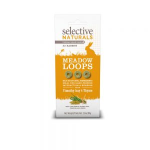 SELECTIVE NATURALS Meadow Loops for Rabbits, 80g