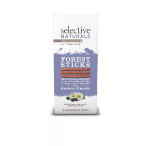 SELECTIVE NATURALS Forest Sticks for Guinea Pigs, 60g