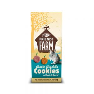 TINY FRIENDS FARM Charlie Chinchilla Cookies, 120g