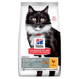 HILLS Sterilised Mature Adult 7+, 1.5kg