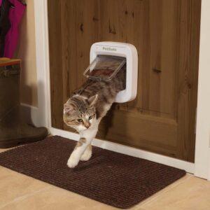 PETSAFE Microchip Cat Flap White