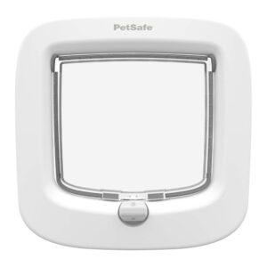 PETSAFE 4-Way Manual Locking Cat Flap, White