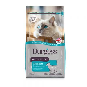 BURGESS Adult Cat Neutered, 1.5kg