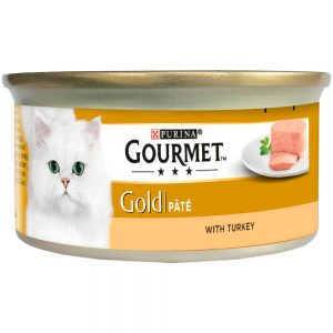 GOURMET Gold Pate with Turkey Can, 85g