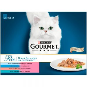 GOURMET Perle Ocean Delicacies Pouch Multipack, 12x85g