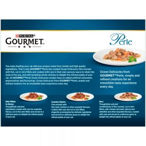 GOURMET Perle Ocean Delicacies Pouch Multipack, 12x85g