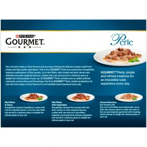 GOURMET Perle Connoisseurs Duo Pouch Multipack, 12x85g