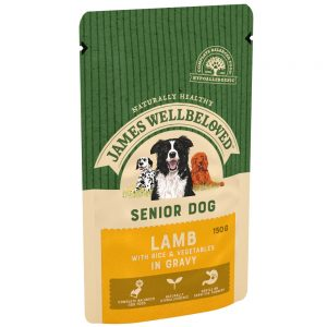 JAMES WELLBELOVED Pouch Senior Lamb, 150g