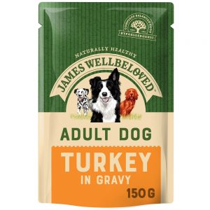 JAMES WELLBELOVED Pouch Adult Turkey, 150g