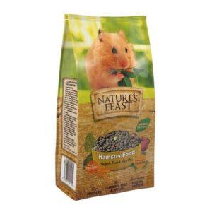 NATURE'S FEAST Hamster Nuggets Fruit & Veg Mix, 675g