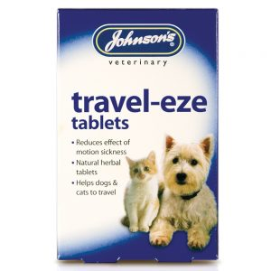 JOHNSON'S Travel-Eze Tablets, 24 Pack