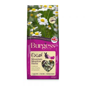 BURGESS EXCEL Mountain Meadow Herbs, 120g