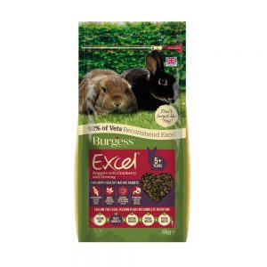 BURGESS EXCEL Rabbit Mature Cranberry, 2Kg