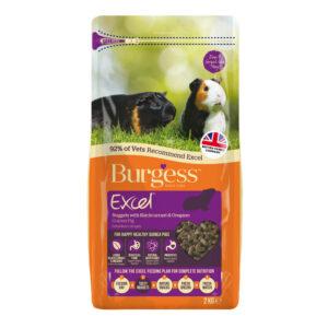 BURGESS EXCEL Guinea Pig Blackcurrant Oregano, 2Kg