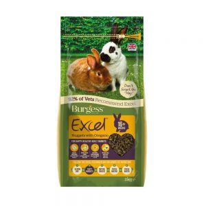 BURGESS EXCEL Rabbit Adult Oregano, 2Kg