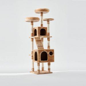 BLUE PAW X-Large Cat Tree with Two Caves