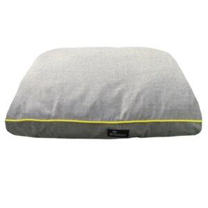 BEDDIES Grey & Yellow Waterproof Mattress, Medium