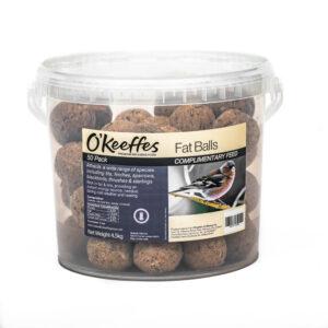 O'KEEFFES Fatballs Bucket, 50 Pack