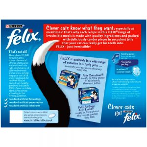 FELIX Meaty Selection in Jelly Pouch, 12x100g