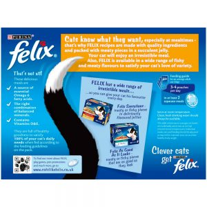 FELIX Poultry Selection in Jelly Pouch, 12x100g