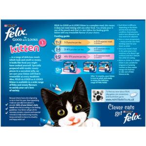 FELIX AGAIL Kitten Pouch, 12x100g