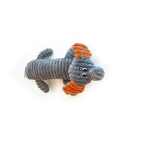 M-PETS Bobby Elephant Plush Squeaker, 32cm