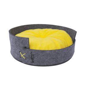M-PETS Maui Felt Basket with Cushion