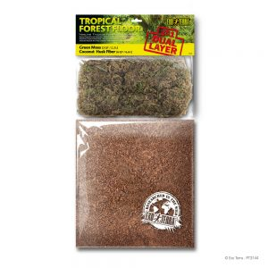 EXO TERRA Dual Moss & Coco Husk Substrate, Large