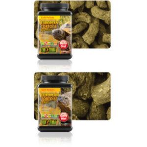 EXO TERRA Juvenile European Tortoise Food Soft Pellets, 260g