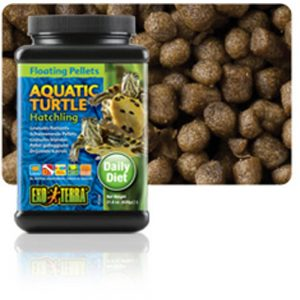 EXO TERRA Floating Pellets Hatchling Aquatic Turtle Food, 50g