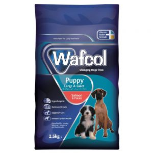 WAFCOL Salmon & Potato Large Breed Puppy, 2.5kg