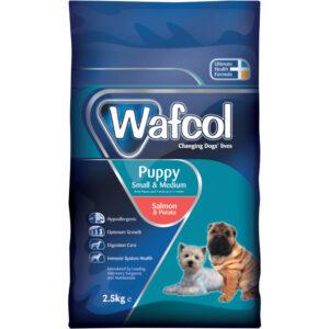 WAFCOL Salmon & Potato Small / Medium Breed Puppy, 2.5kg