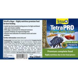 TETRA Pro Algae Multi Crisps, 45g
