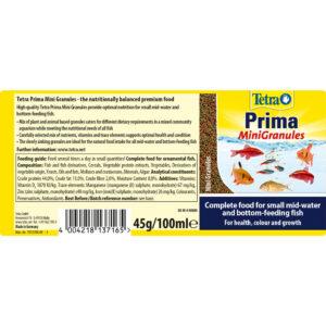 TETRA Prima Mini Granules, 45g