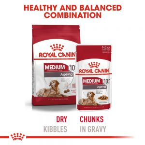 ROYAL CANIN Medium Ageing (10+) Gravy Pouch, 140g