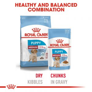 ROYAL CANIN Medium Puppy Gravy Pouch, 140g